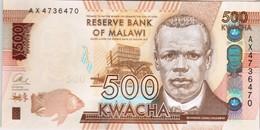 Malawi - Pick 66a - 500 Kwacha 2014 - Unc - Malawi