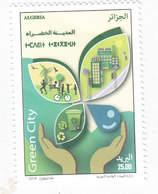 Algeria New Issue 2018, Green Cituy 1v.complete Set MNH- SKRILL PAYMENT ONLY - Algeria (1962-...)