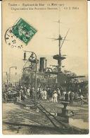 83 - TOULON / EXPLOSION DU IENA Le 12 MARS 1907 - ORGANISATION DES PREMIERS SECOURS - Toulon