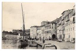 06 ALPES MARITIMES - VILLEFRANCHE SUR MER Quai Amiral Courbet - Villefranche-sur-Mer