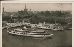 Konstanz V. 1954  Hafen Mit Schiffe  (2742) - Konstanz