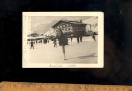 Photo MEGEVE Haute Savoie 74 : Patineuse Jacqueline CANEPA Championne Patin à Glace 1949 Patinoire Patineuse Ice Skating - Megève