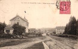 LA GARE DE BOUJAILLES -25- HOTEL DE LA GARE - Autres Communes