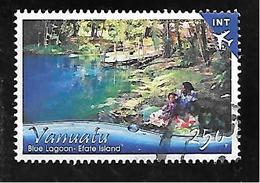 TIMBRE OBLITERE DE VANUATU DE 2017 - Vanuatu (1980-...)