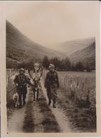 UBER DEM POLARKREIS NORWEGEN NORWAY DER LAPPE LAPPLAND DEUTSCHE GEBIRGSJA  FOTO DE PRESSE WW2 WWII WORLD WAR 2 WELTKRIEG - Lugares