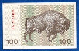 Lituanie  -  100 Talonas 1991  - Pick # 38 B     - état UNC - Lituanie