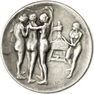 France, Médaille, IIIème République, Le Journal, 100 Rue Richelieu, Paris - France