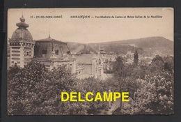 DD / 25 DOUBS / BESANÇON / VUE GENERALE DU CASINO ET BAINS SALINS DE LA MOUILLÈRE / CIRCULÉE EN 1919 - Besancon