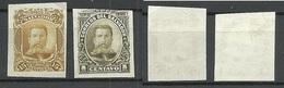 EL SALVADOR 1895 Michel 144 General Ezeta ESSAY Plate PROOF (*) - El Salvador