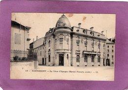 88 REMIREMONT La Caisse D'Epargne Martial François Archit. - Remiremont