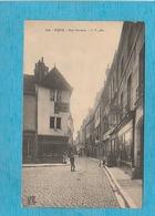 Dijon ( Côte-d'Or ). - La Rue Verrerie. - Dijon