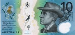 Australia - Pick 63 - 10 Dollars 2017 - Unc - Emissions Gouvernementales Décimales 1966-...