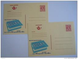 Publibel 2789 F + 2790 N Nieuw Neuve RIZLA Sigarettenpapier Papier à Cigarette8 F - Publibels