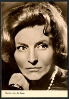 B9051 - Marion Van De Kamp - Starfoto - Autogrammkarte - Progress Film Vertrieb - Pretty Young Women - Autographs