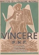 Pagella - P.N.F. O.N.B 1941/1942 - Gavirate Varese - Diplomi E Pagelle