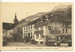 74 - TALLOIRES / INTERIEUR DU VILLAGE - Talloires