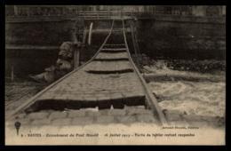 44 - Nantes - Ecroulement Du Pont Mauduit 16 Juillet 1913 Partie Du Tablier #08589 - Nantes