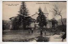 16 : Alloué :  Chateau De L'Age - Autres Communes