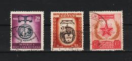 1952 -  JOURNEE INTERNATIONALE DE LA FEMME  MI No 1391/1393  (9) - Gebraucht