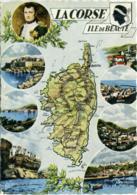 FRANCE  LA CORSE  Ile De Beaute  Napoleon - Carte Geografiche