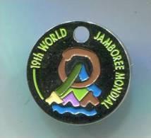 JETON DE CADDIES 19th World Jamborr Mondial Chile 1999 PAC Scouts De France - Trolley Token/Shopping Trolley Chip