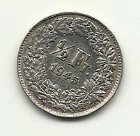 1945 - Svizzera 1/2 Franc - Svizzera