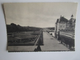 Vaux Le Vicomte. Parterre Et Cote Est. Cliche Jean Vincent. - Vaux Le Vicomte