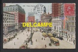 DD / ETATS-UNIS / NEW YORK / TIMES SQUARE / ANIMÉE / CIRCULÉE EN 1913 - Time Square