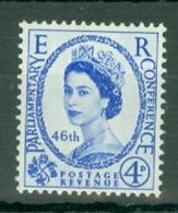 G.B.: 1957   46th Inter-Parliamentary Union Conference     MNH - 1952-.... (Elizabeth II)