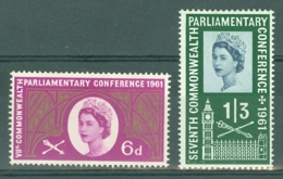G.B.: 1961   Seventh Commonwealth Parliamentary Conference        MH - 1952-.... (Elizabeth II)