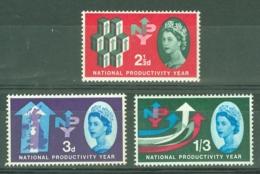 G.B.: 1962   National Productivity Year        MH - Neufs
