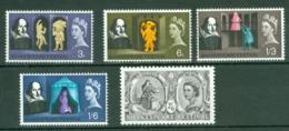 G.B.: 1964   Shakespeare Festival     MNH - 1952-.... (Elizabeth II)