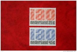 IAO Zegels NVPH 918-919 (Mi 912-913); 1969 POSTFRIS / MNH ** NEDERLAND / NIEDERLANDE - 1949-1980 (Juliana)
