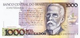 Brazil - Pick 213b - 1000 Cruzados 1988 - Unc - Brasile