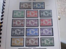 TIMBRE COLONIE FRANCAISE NOUVELLE CALEDONIE FRANCE LIBRE N°230/243 SANS CHARNIERE - New Caledonia