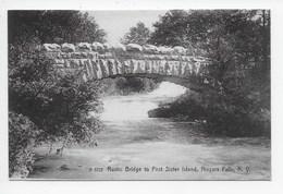 Rustic Bridge To First Sister Island, Niagara Falls, N.Y. - Other