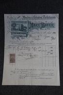Facture Ancienne - CANET DAUDE, Marc BOYER , Moulins à Cylindres Perfectionnés. - 1900 – 1949
