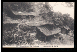 FORMOSA Comphor Cottage OLD POSTCARD 2 Scans - Formosa