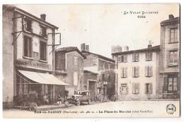 BAS EN BASSET - La Place Du Marché (côté Nord Est) (Café Tabac Du Marché) - Frankreich