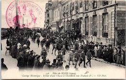 41 BLOIS - Fêtes De 1909, Cortège Historique, Retour D'une Chasse - Blois