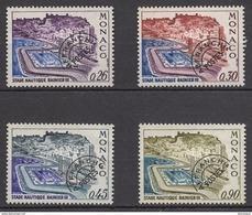 MONACO 1969 / 1975 - SERIE  N° 30 A 33  -  NEUFS ** - Monaco