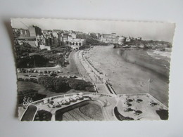 Biarritz. Vue De La Grande Plage. Au 1er Plan La Piscine. Elce 8807 Postmarked 1961. - Biarritz