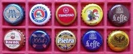 - Lot De 10 Capsules De Bières - - Beer