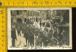 Udine Città WW1 Militare Durante L' Invasione - Udine