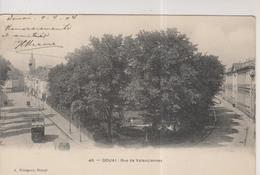 CPA-59-Nord- DOUAI- Rue De Valenciennes- - Douai
