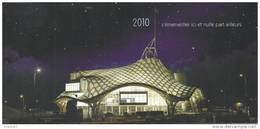 Metz; Centre Pompidou (une Merveille) Carte En 2 Volets - Blocs Souvenir