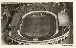 Netherlands, AMSTERDAM, Olympisch Stadion (1940s) Stadium RPPC Postcard - Soccer