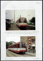 STRASSENBAHNEN - TRAMS - TRAMCARS - DÜSSELDORF - 6 Photographies. (6) - Photos