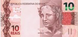 Brazil - Pick 254a - 10 Reais 2010 - Unc - Brasile