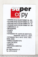 Romanian Small Calendar - 2015  Super Copy International SRL - Calendars